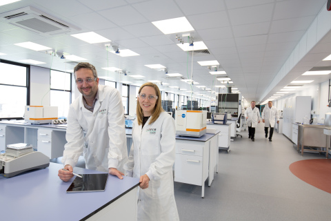 R&D scientists excited about new laboratory. Wilton Centre will bring new sustainable, high tech jobs to the region. (Photo: Fujifilm)