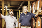 Started in late 2015 by two Kentucky-based distilleries, Collabor&tion is a culmination of nearly two years of work. Steve Nally, Bourbon Hall of Fame Master Distiller for Bardstown Bourbon Company, and Brandon O'Daniel, Head Distiller for Copper & Kings, hand-selected the bourbon for the project, meticulously blended it until it achieved the right flavor profiles, and chose the barrels for the finishing process. (Photo: Business Wire)