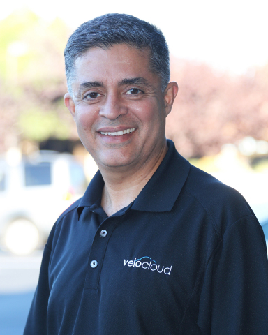 """Sanjay Uppal is CEO and Co-Founder of VeloCloud, which continues to strengthen its global market lead as the SD-WAN technology of choice for Service Providers with 50 paying Service Providers and the new VeloCloud """"Ready Set GO"""" Program, which turns up an end-to-end Service Provider SD-WAN solution in 30 days or less. (Photo: Business Wire)"""