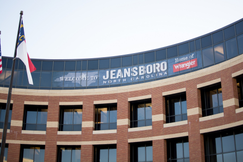 Wrangler celebrates the third annual Jeansboro Day on September 20. (Photo: Business Wire)