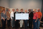IBERIABANK, Evolve Bank and Trust and FHLB Dallas partnered to award $12,000 to Habitat for Humanity of Greater Jonesboro to offset operational costs. (Photo: Business Wire)