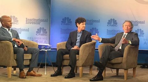 C3 IoT CEO Thomas Siebel addresses enterprise-scale AI with CNBC and Breyer Capital. (Photo: Busines ...