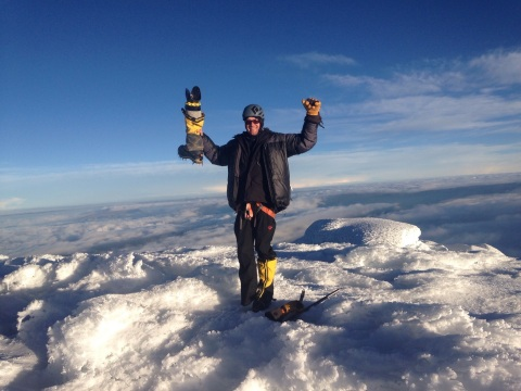 American Paralympian Jeff Glasbrenner has his sights set on climbing the highest mountain on each co ...