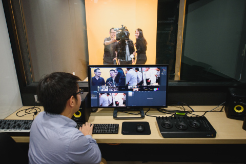 'Live' content production and video editing facilities (Photo: Business Wire)