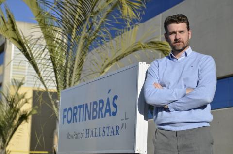 Leonardo Sabedot, new General Manager at Hallstar's Brasil location. (Photo: Business Wire)
