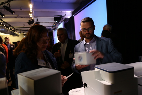 Pitney Bowes' SendPro C-Series - a multi-carrier shipping Android-based platform - digitally transforms the postage meter into an open platform to deliver a broad array of business solutions. (Photo: Business Wire)