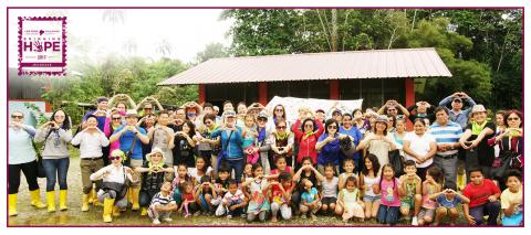 Jeunesse company representatives and distributors visit the community of Los Rios, Ecuador on annual service trip. (Photo: Business Wire)