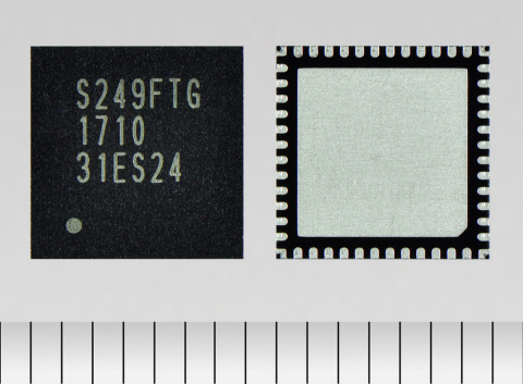 "Toshiba Electronic Devices & Storage Corporation: ""TB67S249FTG,"" a new stepping motor driver with anti-stall feedback architecture with a current rating of 4.5A. (Photo: Business Wire)"