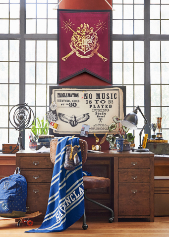 Study area from the Harry Potter Collection by PBteen available today in stores and online