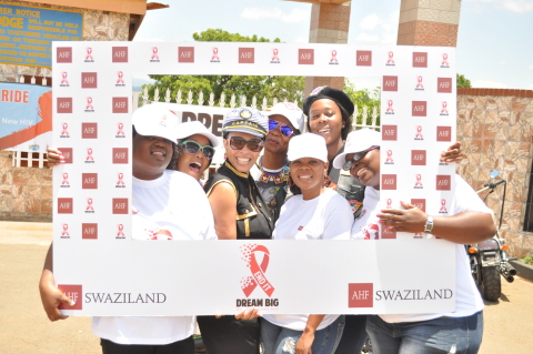 AHF HIV/AIDS awareness campaign (Photo: Business Wire)