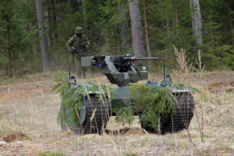 The system by FN Herstal and Milrem Robotics has already been deployed with positive results at the largest Estonian military exercise Spring Storm 2017. (Photo: Business Wire)