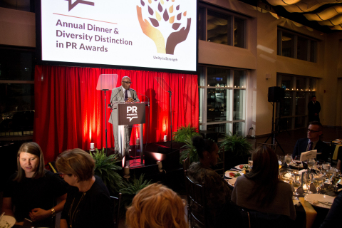 Thirteen-time Emmy winner, host and weatherman of NBC's Today Show and Owner & CEO of Al Roker Entertainment, Al Roker emcees the PR Council's Diversity Distinction in PR Awards. (Photo: Business Wire)