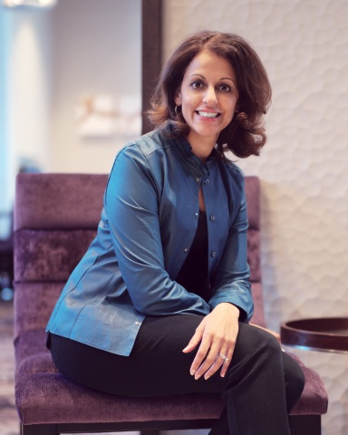Shruti Gandhi Buckley is named Hampton by Hilton Global Head. (Photo: Business Wire)