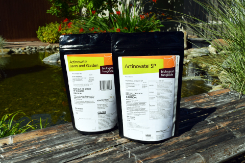 Actinovate SP and Lawn and Garden 18 oz Biological Fungicide packages now have a 1 year shelf life. (Photo: Business Wire)