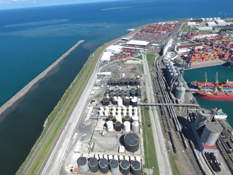 Primary tanks at the Vopak terminal in Veracruz. (Photo: Business Wire)