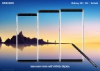 With general availability beginning today of the new Galaxy Note8, Samsung now offers three flagship smartphones with edge-to-edge screens to meet the different needs of consumers – the Galaxy S8, Galaxy S8+ and Galaxy Note8. (Photo: Business Wire)
