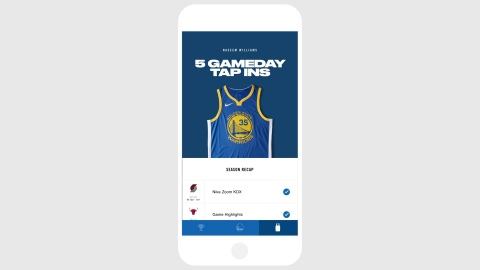 Using New NikeConnect Technology, Retail Jerseys Will Unlock Exclusive Experiences and Customized Content for Fans' Favorite Teams and Players (Photo: Business Wire)