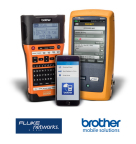 Application integrates with Fluke Networks LinkWare™ Live, to offer cabling installers unique on-the-jobsite workflow solution, with secure cloud data storage for convenient cable management (Photo: Business Wire)