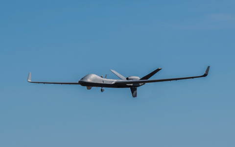 This was the longest transit flown by an RPA in Class A civilian airspace under a COA granted by the ...