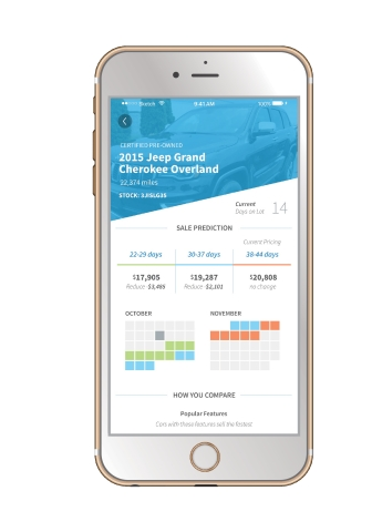 CarStory Insights Mobile App (Photo: Business Wire)