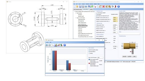DFM Concurrent Costing 3.0 software from Boothroyd Dewhurst, Inc. guides manufacturers toward optimum process and material choices for Machining, Casting, Plastics, and Sheet Metal, for a broad range of industries—leading to innovation and significant savings. (Graphic: Business Wire)