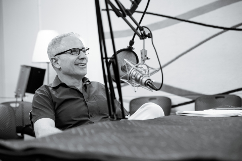 """ArtCenter College of Design President Lorne Buchman hosting ArtCenter's new podcast """"Change Lab"""" exploring the transformative power of creativity. (Photo: Business Wire)"""