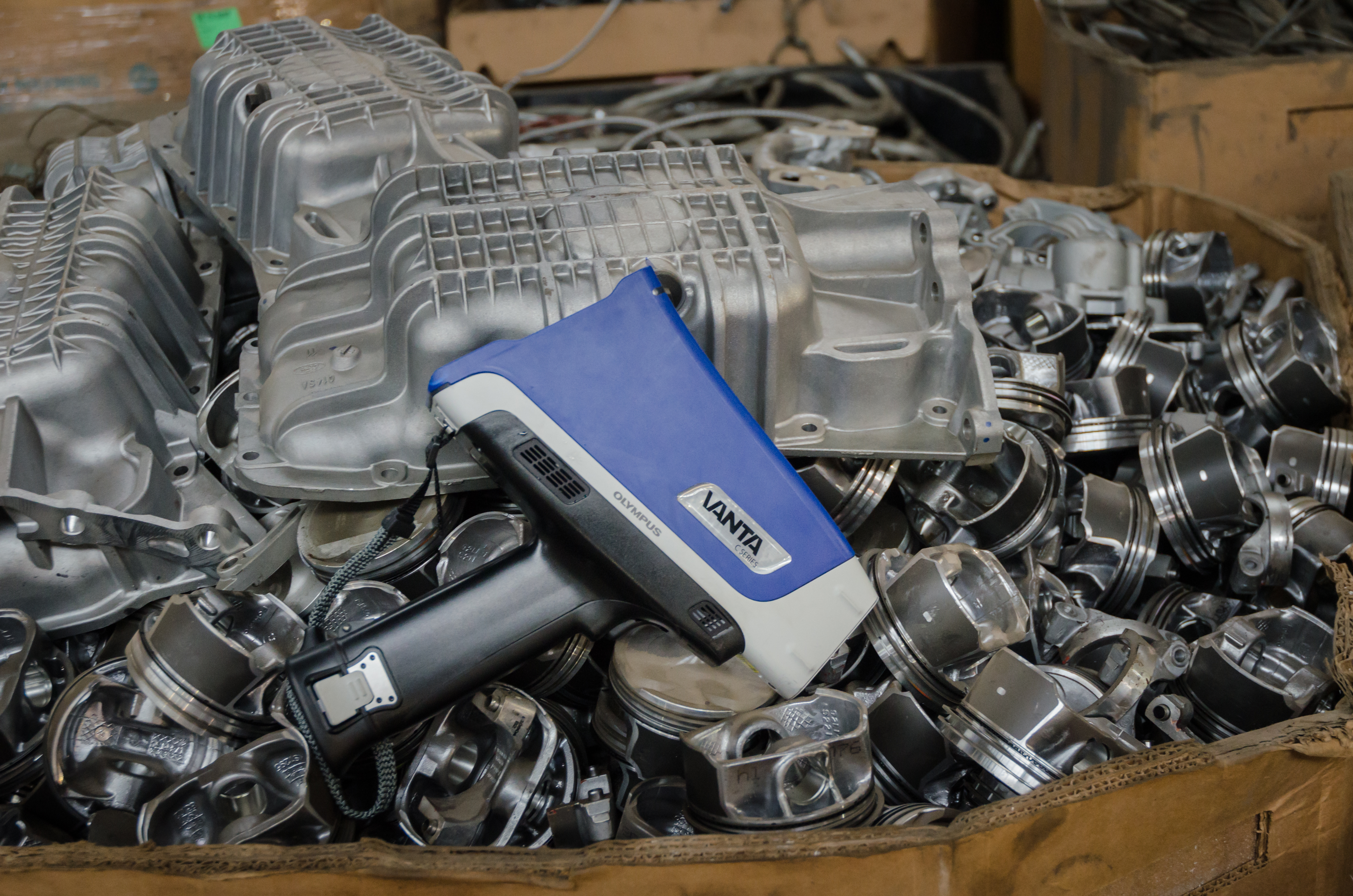 Ruggedness Within Reach: Olympus\' New L Series Vanta™ Handheld XRF ...