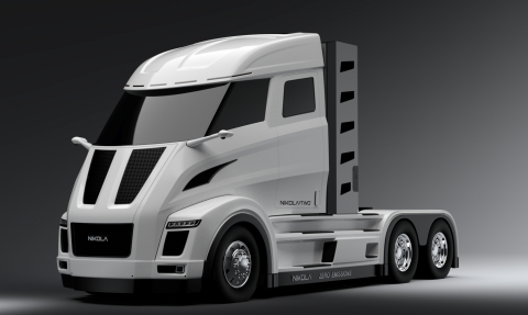 Nikola Motor Company and Bosch announce development partnership to achieve the first electric, long-haul truck with zero local emissions. (Photo: Business Wire)
