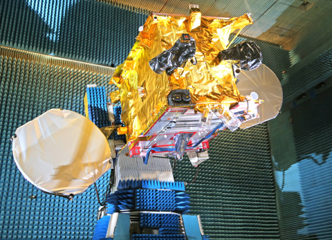 EchoStar 105/SES-11 Shipped from Toulouse to the Cape for SpaceX Launch (Photo: Business Wire)