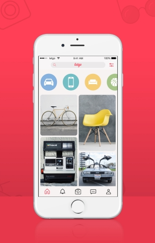 With 75M downloads and hundreds of millions of listings to date, letgo is the largest and fastest growing app to buy and sell locally.(Photo: Business Wire)