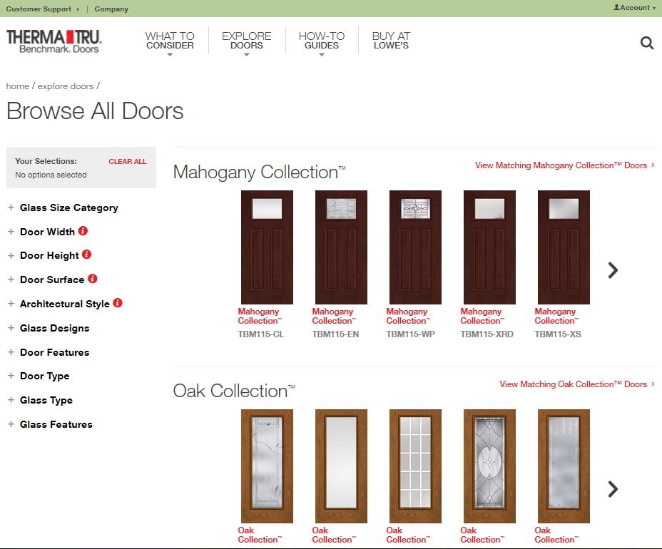 Therma Tru Benchmark Simplifies Entry Door Selection For Diy