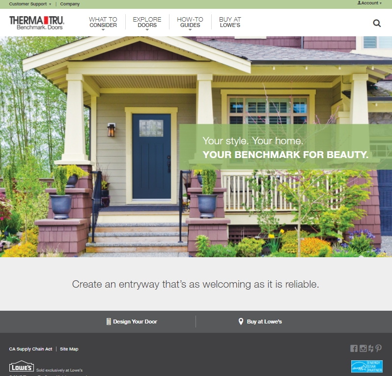 Therma-Tru® Benchmark® Simplifies Entry Door Selection for DIY Homeowners | Business Wire  sc 1 st  Business Wire & Therma-Tru® Benchmark® Simplifies Entry Door Selection for DIY ... pezcame.com
