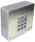 CyberData's New SIP Secure Access Control Keypad (Photo: Business Wire)