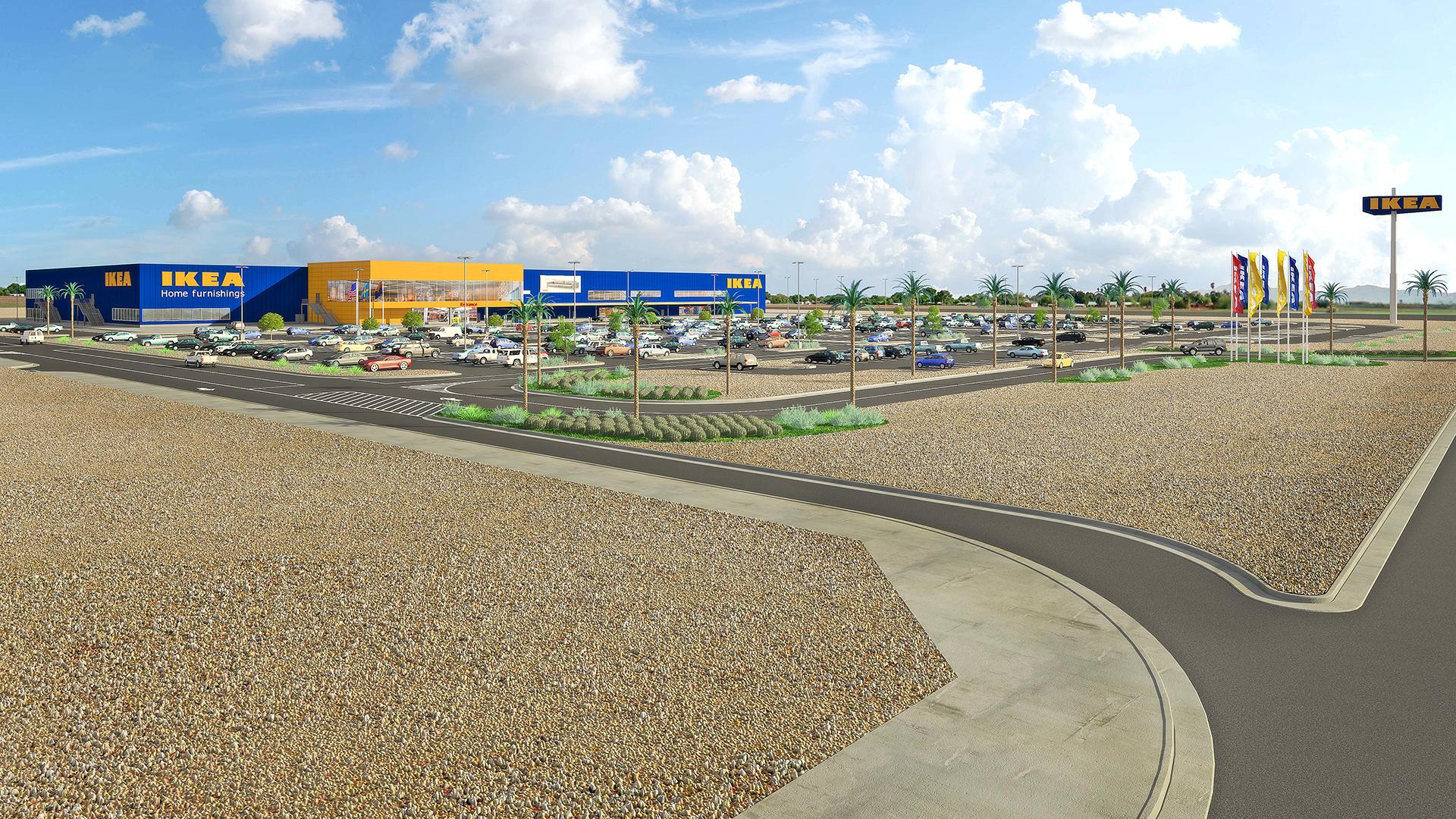 Ikea plans to open second phoenix area location in glendale for Ikea scottsdale arizona
