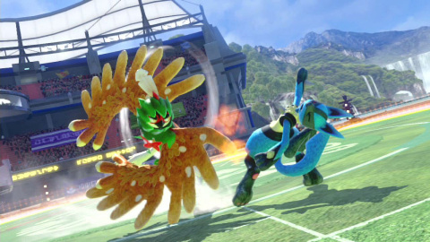 The Pokkén Tournament DX game will be available on Sept. 22. (Photo: Business Wire)