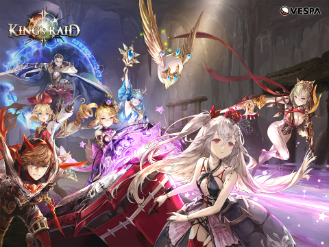 Mobile RPG King's Raid is officially launching in European Markets (Google Play and Apple App Store) ...