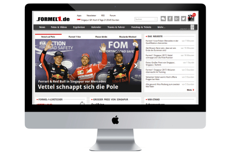 Motorsport Network's global expansion has continued with the acquisition of Germany's biggest motorsport digital media company - sport media group GmbH, publisher of Germany's leading websites and apps, Formel1.de and Motorsport-Total.com. (Photo: Business Wire)