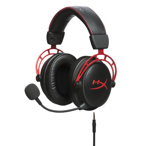 HyperX is now shipping HyperX Cloud Alpha gaming headset with dual chamber technology, and continues with Cloud DNA comfort and quality. (Photo: Business Wire)