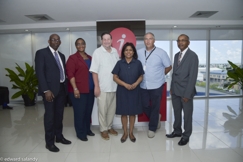 Trinidad and Tobago's Senator the Honorable Paula Gopee-Scoon, Minister of Trade and Industry, visited iQor's Barataria site on September 15th. (Photo: Business Wire)