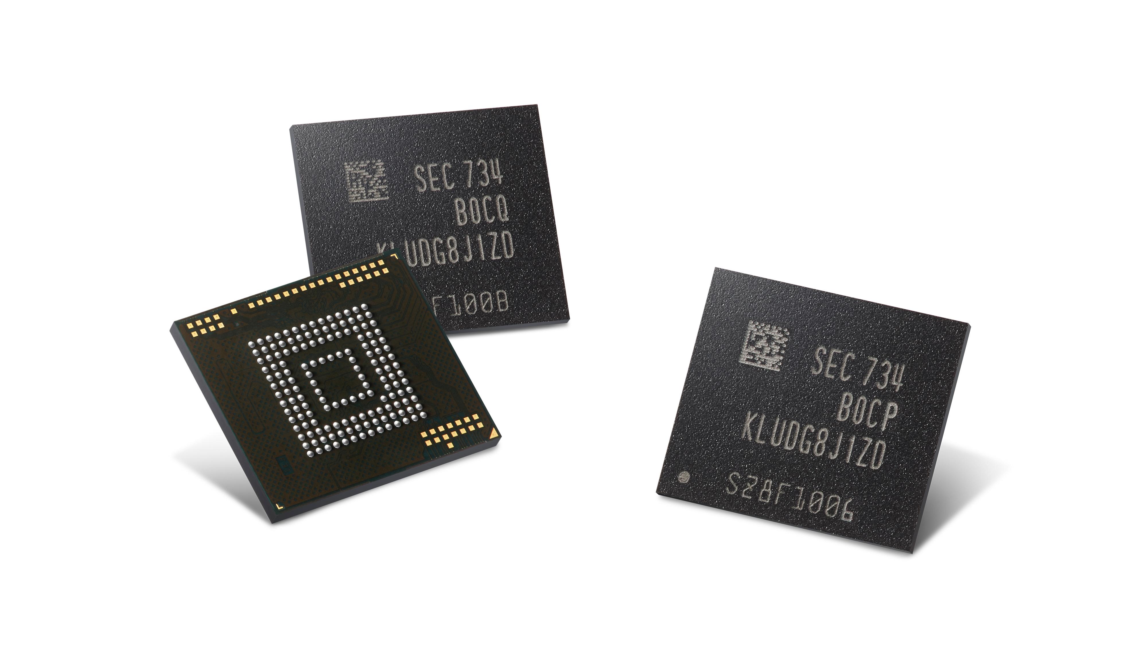 Samsung eUFS Speicher für Autos.