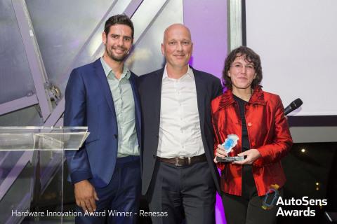 AutoSens Awards Hardware Innovation Winner - Renesas (Photo: Business Wire)