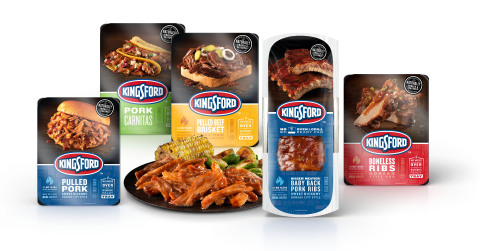 CBQ, LLC, a wholly owned subsidiary of Carl Buddig & Company, has reached a multiyear agreement to produce Kingsford® branded pre-cooked ribs and barbecue entrees. Available nationwide in December 2017. (Photo: Business Wire)