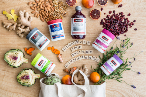 Swisse Wellness reintroduces its popular line of vitamins and supplements in the U.S. (Photo: Business Wire)