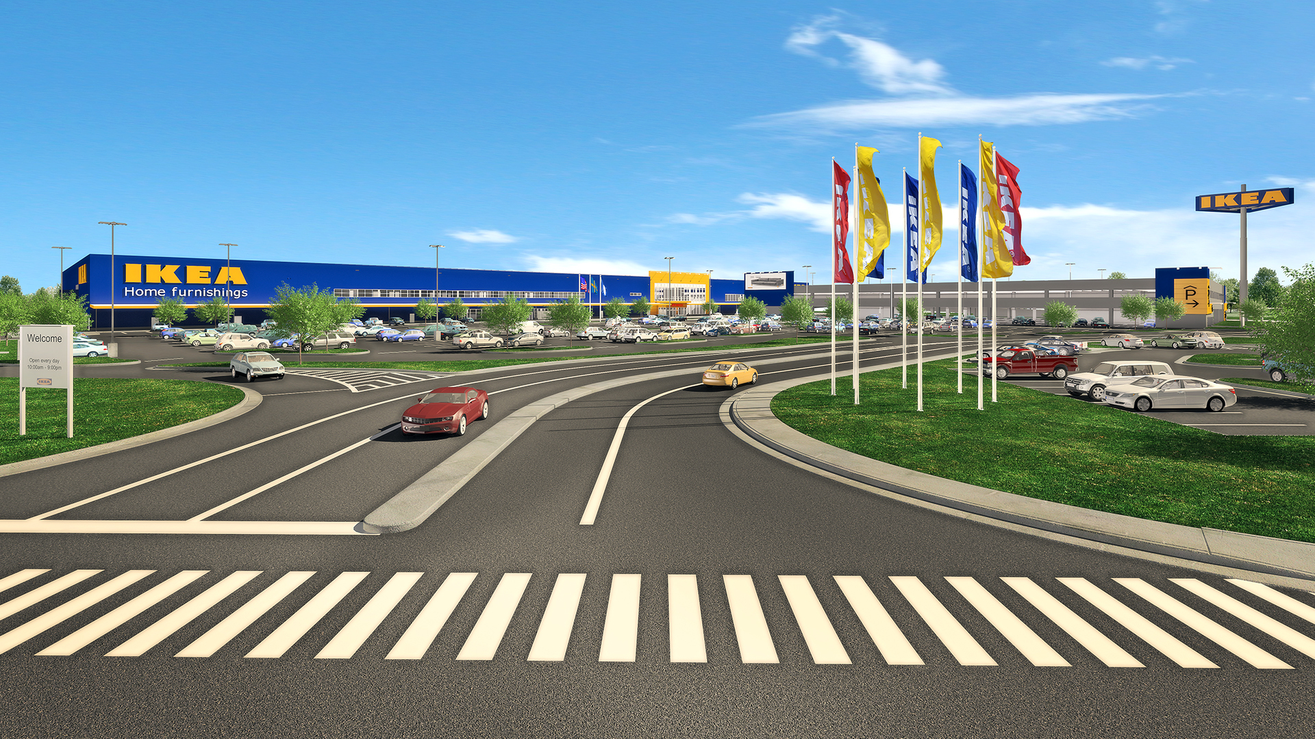 Swedish home furnishings retailer ikea secures contractors for Ikea outlet charlotte nc