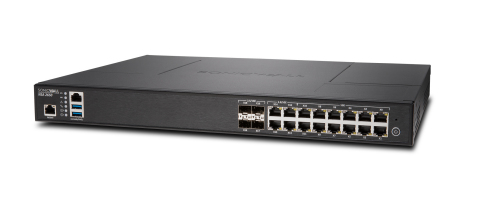Compared with the previous-generation NSA 2600 appliance, the new NSA 2650 supports twice the number of DPI connections and offers 12,000 DPI SSL connections, an increase of 12X. (Photo: Business Wire)