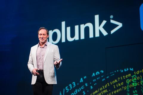 Doug Merritt, Splunk President and CEO. Image courtesy of Splunk.