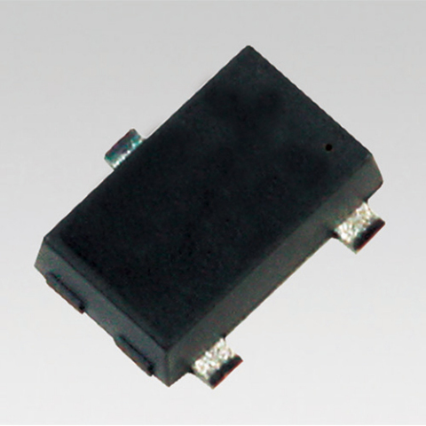 """Toshiba Electronic Devices & Storage Corporation: a new MOSFET """"SSM3K357R,"""" that adopts an active-clamp structure with a built-in diode between the drain and gate terminals. (Photo: Business Wire)"""
