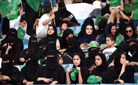 As a reflection of the promise of Vision 2030's vibrant and inclusive society, women attended all events, including in sports stadiums, such as King Fahd International stadium which opened its doors to everyone for the first time. Packed audiences listened to a music show and the National Epic operetta on the history of the Kingdom. Saudi Arabia is celebrating the 87th anniversary of its founding with a series of spectacular entertainment events across the Kingdom. (Photo: AETOSWire)