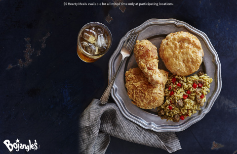 Bojangles' 2-Piece Dinner Combo is one of five hearty meals Bojangles' fans can grab for just $5 each. (Photo: Bojangles')