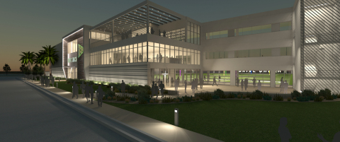 Drive Shack Rendering, West Palm Beach Coming Soon. (Photo: Business Wire)